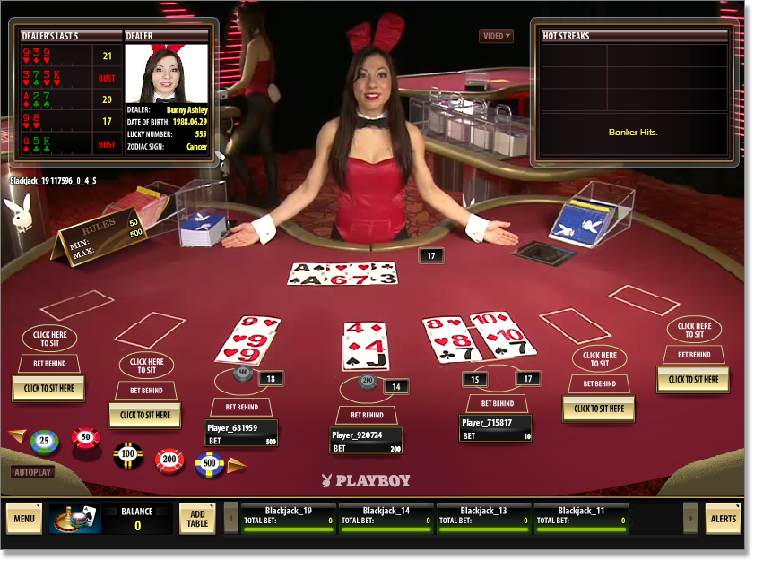Live Dealer Blackjack Tips