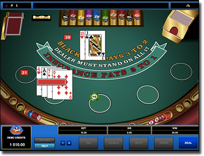 All Slots Casino Microgaming blackjack site