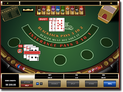 Vegas downtown 21 by Microgaming