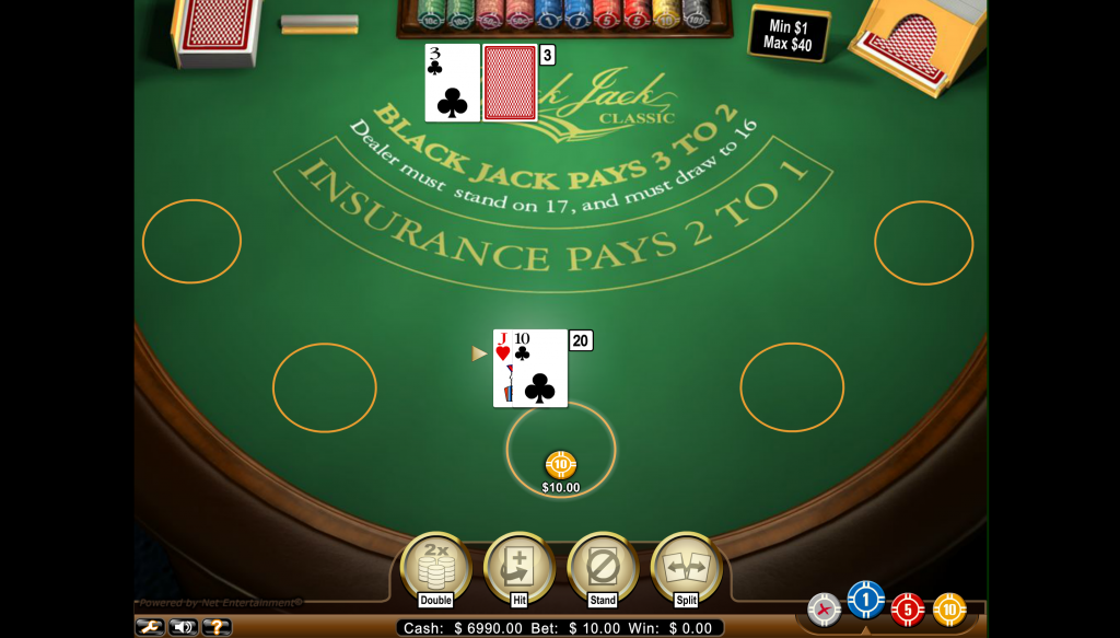 G'Day Casino - Classic blackjack online for real money