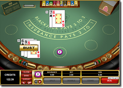 Vegas Strip Blackjack by Microgaming