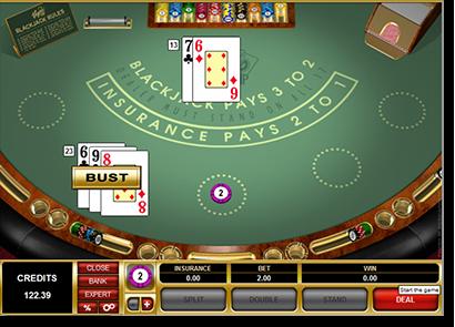 Odds of winning blackjack in vegas