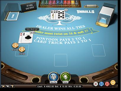 blackjack single deck medium netent