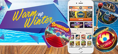 Leo Vegas Casino - Winter bonuses promotion